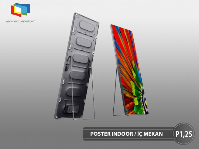 Poster P1,25 Led Display | Sönmez Led Display