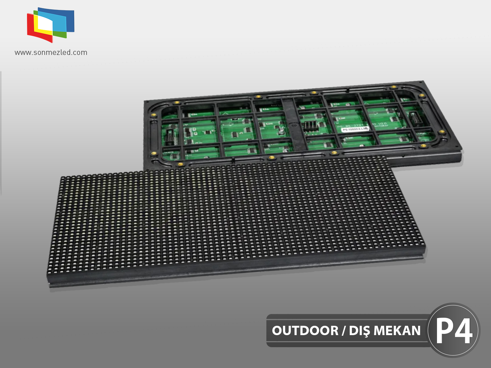 Outdoor P4 Led Display Module | Sönmez Led Display