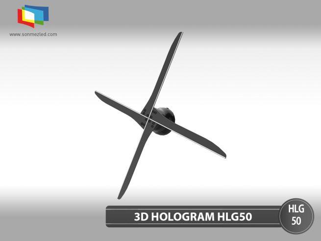 3D Hologram Led Fan HLG50 | Sönmez Led Display