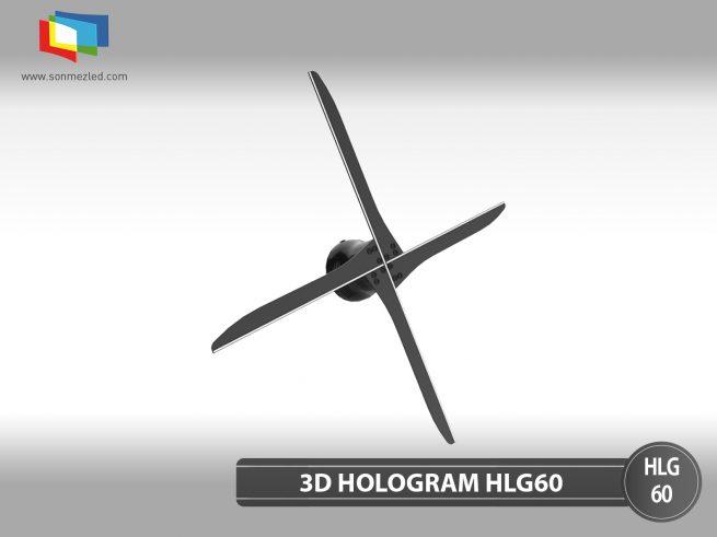 3D Hologram Led Fan HLG60 | Sönmez Led Display