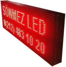 Sönmez Led Kayan Yazi P10 Panel Led